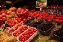 Various Summer Berries. Tray O...
