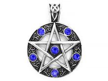 Jewelry, Pendant. Magic Pentag...