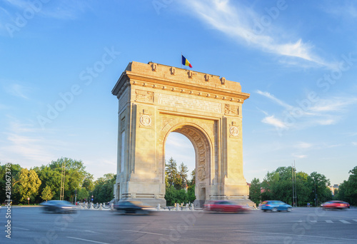 Fotomural The Arch Of Triumph - Bucharest