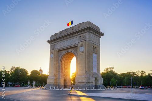 The Arch Of Triumph - Bucharest