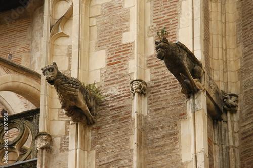 Poster Monument Toulouse - Cathédrale Saint Etienne