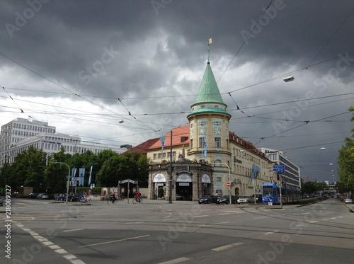Fotografie, Obraz  Stieglmeierplatz