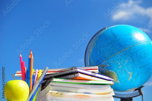 Foto  back to school concept