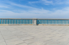 Beach Promenade In Cadiz