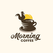 Morning Coffee Logo Designs Co...