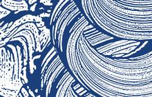 Grunge Texture. Distress Indigo Rough Trace. Delightful Background. Noise Dirty Grunge Texture. Gorg