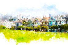 Iconic San Francisco Painted L...
