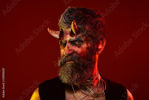 Photo  Halloween hell, death, evil, horror concept