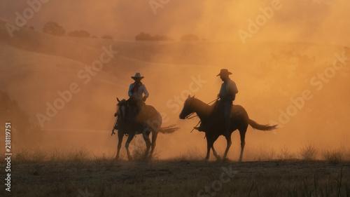 Valokuva Western Sunrise