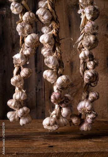 Braided Italian Garlic Plaits