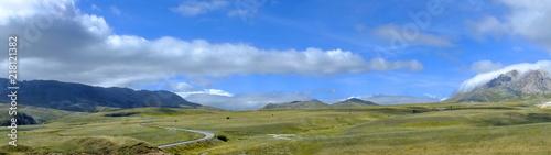 Fotografia, Obraz Panoramic in Gran Sasso National Park in Abruzzo, Italy