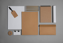 Flat Lay Composition With Stat...