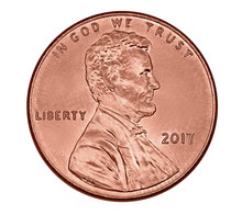 American One Cent Coin With Pr...