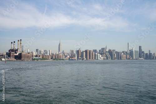 Manhattan from East River Canvas-taulu