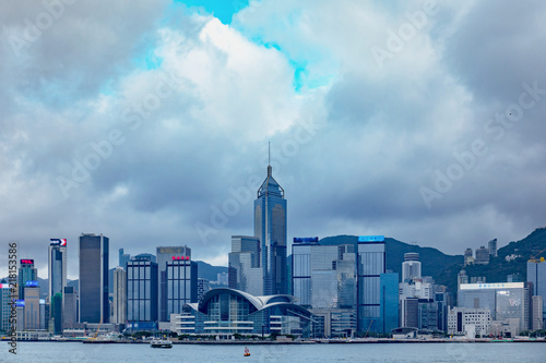 Stampe  Hong Kong Harbor View