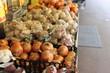 野菜の陳列