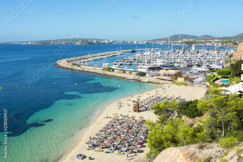 Portals Nous beach (playa), Mallorca, Balearic islands, Spain
