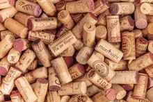 A Heap Of Spanish Wine Corks