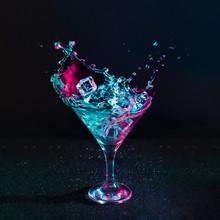 Martini Cocktail Drink Splash ...