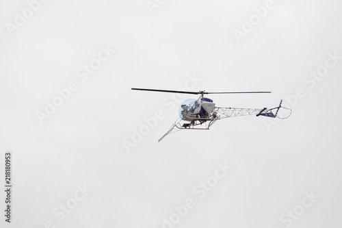 Tuinposter Helicopter Helicopter for agriculture