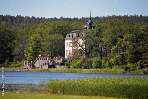 Photo  Schloss Asgard am See Mälaren
