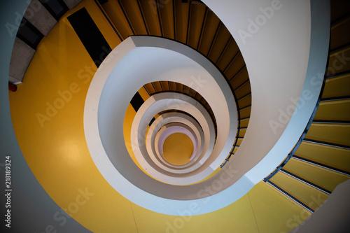 Foto op Plexiglas Spiraal STAIRCAISE