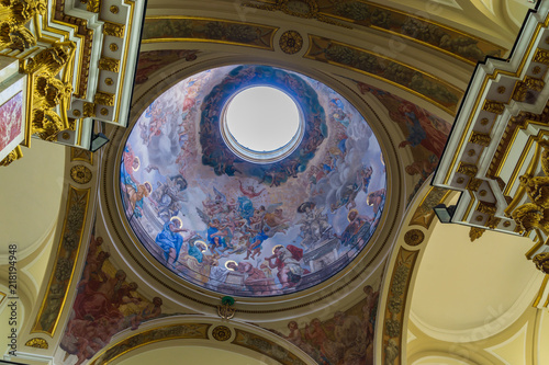 Isernia, la Cattedrale Fototapet