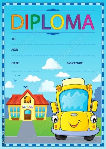 Poster Voor kinderen Diploma design image 5
