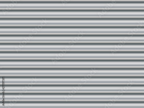 Foto  Corrugated black and white background
