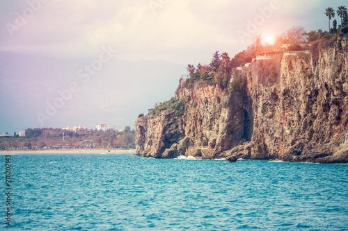 Foto op Plexiglas Kust Beautiful sea coast.