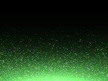 Green Glitter Confetti Splash ...