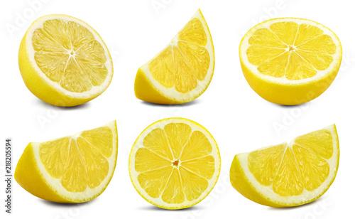 lemon fruit Clipping Path