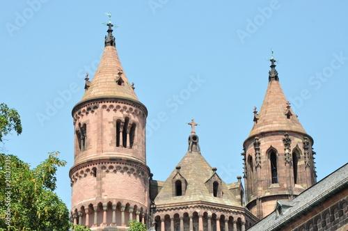 Fotografía  Romanischer dom Worms am Rhein