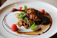 Duck Confit , Roasted Duck Leg...