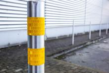 Traffic Bollard For Safety Str...