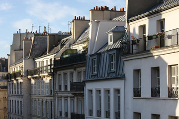 Paris residential buildings