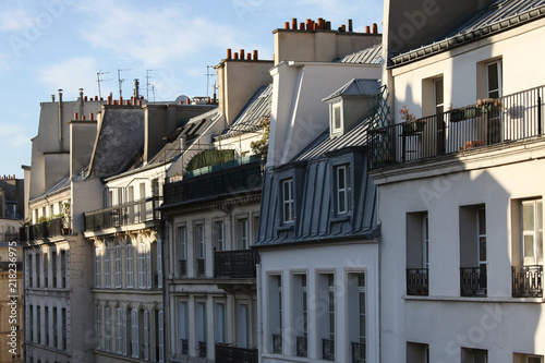 Paris residential buildings