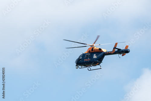 Staande foto PoliceHelicopterLuxembourg