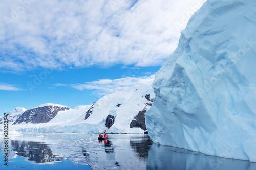 Fotografie, Obraz  landscape of south pole