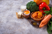 Healthy Products Rich In Vitam...