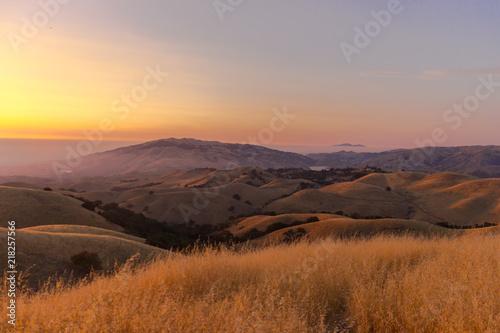 Foto op Plexiglas Zuid Afrika Beautiful sunset landscape