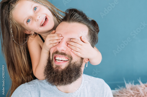 Fotografie, Obraz  playful family leisure
