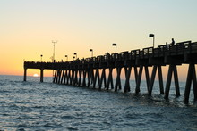Fishing Pier In Venice Florida...