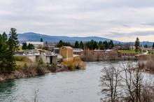 Upriver Dam On The Spokane River