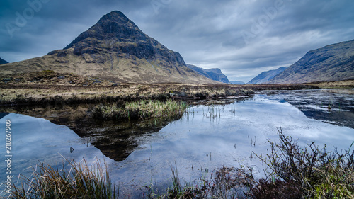 Photo Buachaille Etive Beag Glencoe Scotland