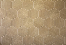 Brown Floor Hexagon Tile With ...