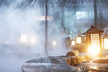 Hot Springs Outdoor In Jilin A...