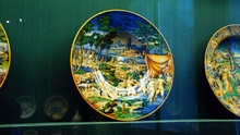 Baroque Faience Plate From The...