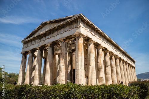 Temple of Hephaestus, Athens, Greece Canvas Print