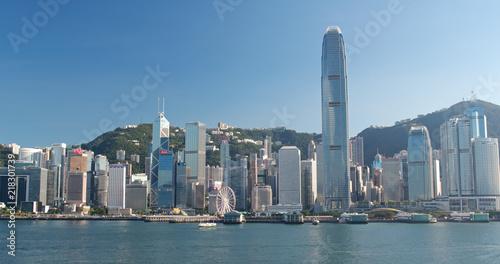 Keuken foto achterwand San Francisco Hong Kong city urban